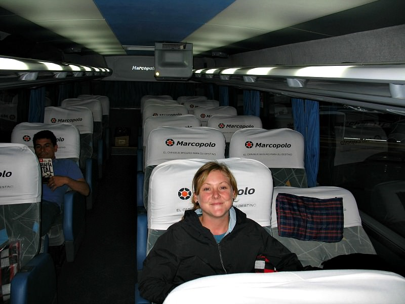 rickshaw staff ceri in overnight bus argentina