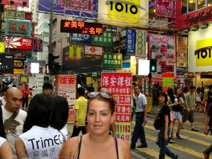 Sophia in Hong Kong
