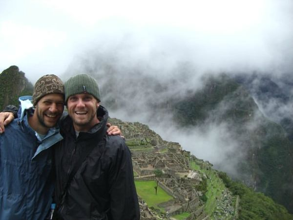 satff ross at machu picchu