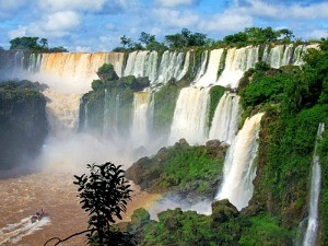 waterfalls in brazil