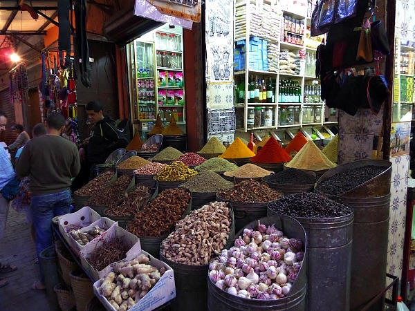local market in morocco