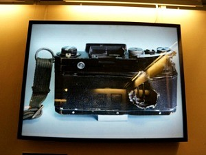 photograph of a camera in museum in vietnam