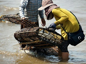 local fishermen in cambodia