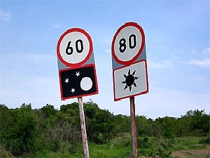 road signs in south africa
