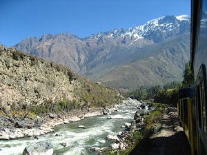 The scenery on the Inca Trail