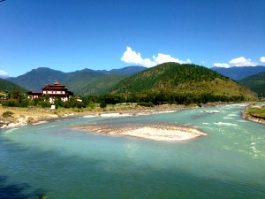 Dzong by the river