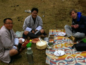 Departure from Bumthang