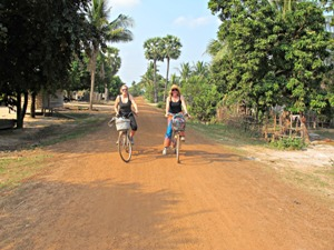 Cycling trip & departure