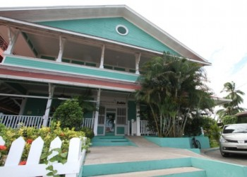 exterior of the accommodation