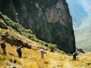 Colpapampa - Aguas Calientes (5 hour trek)