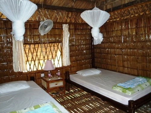 Twin room in the accommodation