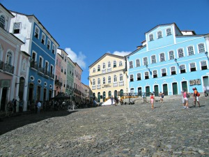 Cobbled Streets of Salvador