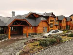 calafate outdoor view of hotel