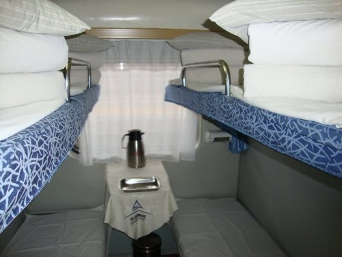 Sleeper train beds