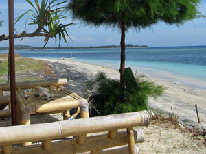 beach view in indonesia