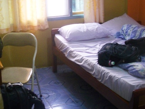room of accommodation