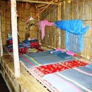beds in our hill tribe accommodation