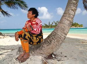 kuna man on beach