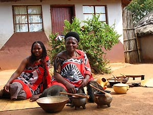 local people in swaziland