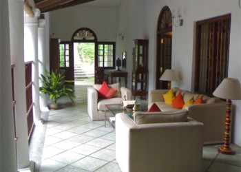 Lounge of the home stay