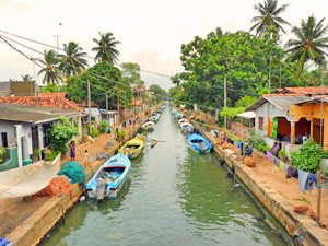 Amble along Negombo's Canals
