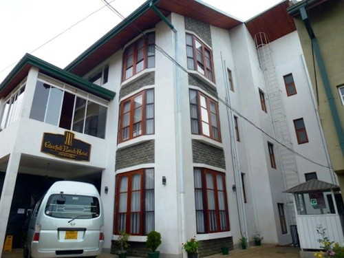 Exterior of the accommodation on Nuwara Eliya