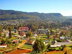 View at Nuwaka Eliya town