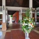 Lobby of our accommodation