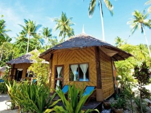 Hut of our Standard accommodation