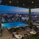 Upgrade hotel in Hanoi, rooftop pool