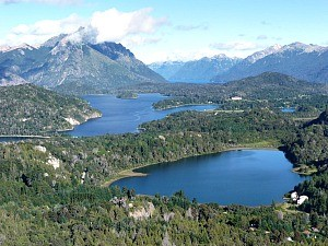 rural landscape of Bariloche