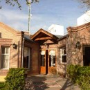 Exterior of the accommodation in Puerto Madryn