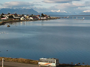 Departure from Puerto Natales