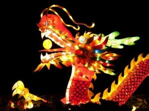 Chinese New Year decorative dragon