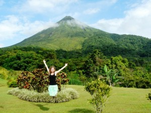 Footsteps (and Kayaks) at the Arenal Volcano