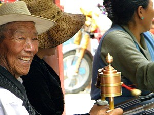 local man in tibet