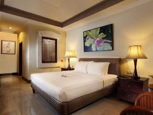 The bedroom of our In Style hotel in Sanur