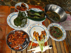 table of food indonesia