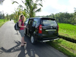 Private car in Bali