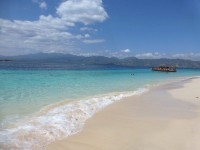 beautiful beach gili islands