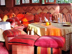 colorful pillows morocco