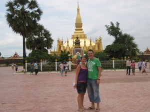 couple in laos
