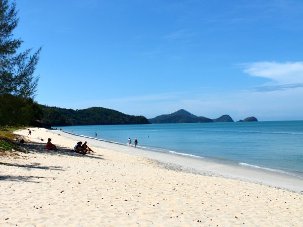 view of beach in malaysia