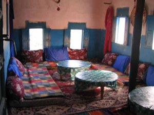 dining room in basic accommodation
