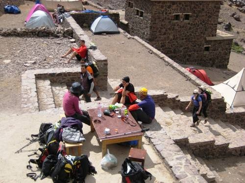 Departure from Toubkal - Aremd - Imlil - Marrakesh