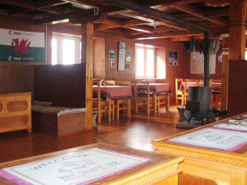 Restaurant of the accommodation