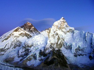close up of everest