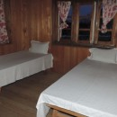 single beds in room