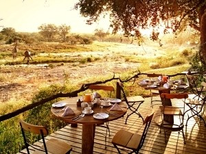 bush camp breakfast in kruger, south africa