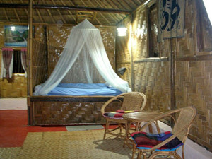 Thailand Hill Tribe Trek Accommodation Room